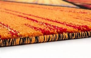 tapis design pour salon moderne multicolore south pas cher With tapis en laine pas cher