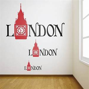 17 best images about london wall stickers decals on With london wall art