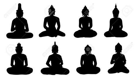Buddha Silhouette Clip Art