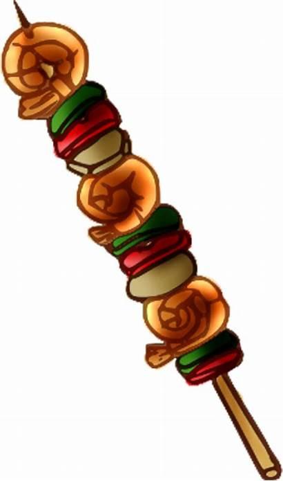 Clipart Kabob Fruit Skewer Shish Clip Kebab