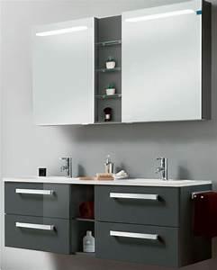 Doppelwaschbecken Mit Unterschrank 140 : waschtisch mit led beleuchtung der badm bel blog ~ Bigdaddyawards.com Haus und Dekorationen
