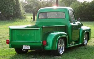 Truck You  A Mean  Green 1955 Ford F-100