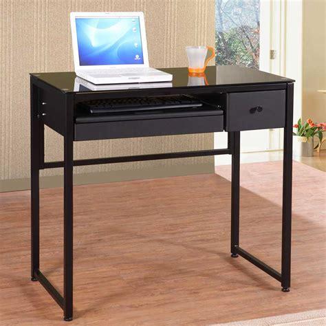 modern glass computer desk black glass computer desk combine modern design black