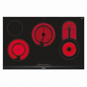 Four Et Plaque De Cuisson : plaque vitroc ramique 4 zones 80 cm siemens et875fc17y zabilo ~ Melissatoandfro.com Idées de Décoration