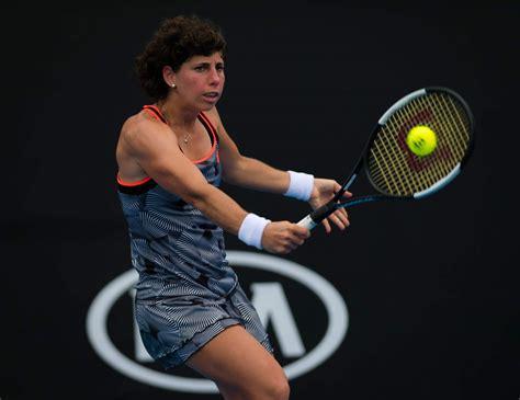 Chemotherapie und reha zwangen carla suarez navarro zu einer langen tennispause. CARLA SUAREZ NAVARRO at 2019 Australian Open at Melbourne Park 01/16/2019 - HawtCelebs
