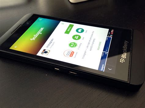 install instagram to blackberry 10 sideload bb10