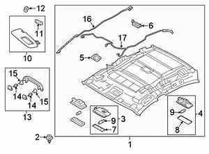 Mazda 3 Headliner Wiring Harness  Hatchback  W  O Sunroof