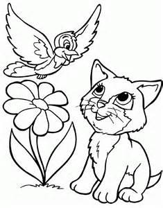 Coloriage De Chats 1001 Animaux