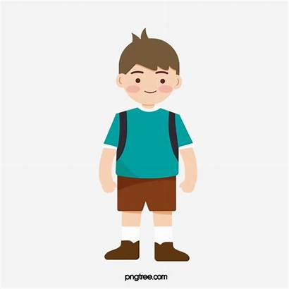 Boy Student Clipart Clip Painted Cartoon Male