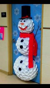 The, Best, Christmas, Dorm, Door, Decorations, To, Copy, This, Year