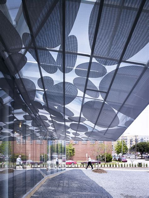 where to buy l shades in raleigh nc brooks scarpa 39 s contemporary art museum canopy in