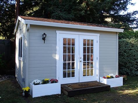 Backyard Shed Office by The Shed Shop Backyard Studio Model