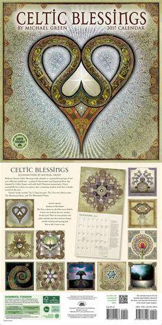 celtic blessings wall calendar celtic art celtic art