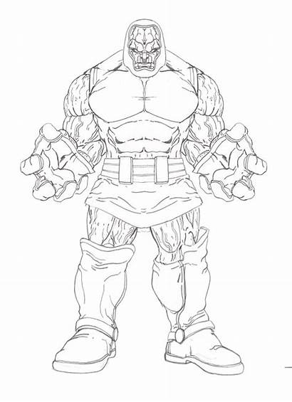 Darkseid Coloring Pages Drawing Lex Luthor Deviantart