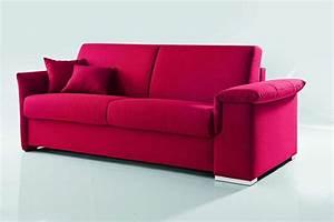 canape convertible design avec coffre de rangement With canape lit rose