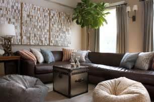 lighten up living with dark leather furniture blulabel