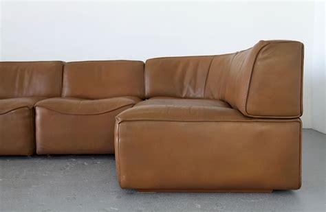 sechsteilige leder sofagruppe ds  adore modern
