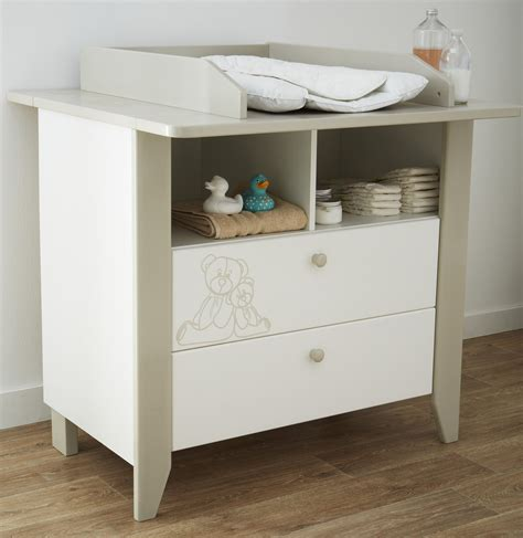 commode chambre blanche rangement chambre fille