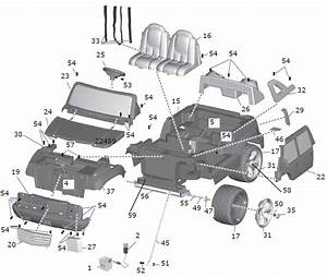 Power Wheels Cadillac Escalade Parts