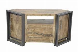 Meuble Angle Tv : meuble tele angle ~ Teatrodelosmanantiales.com Idées de Décoration