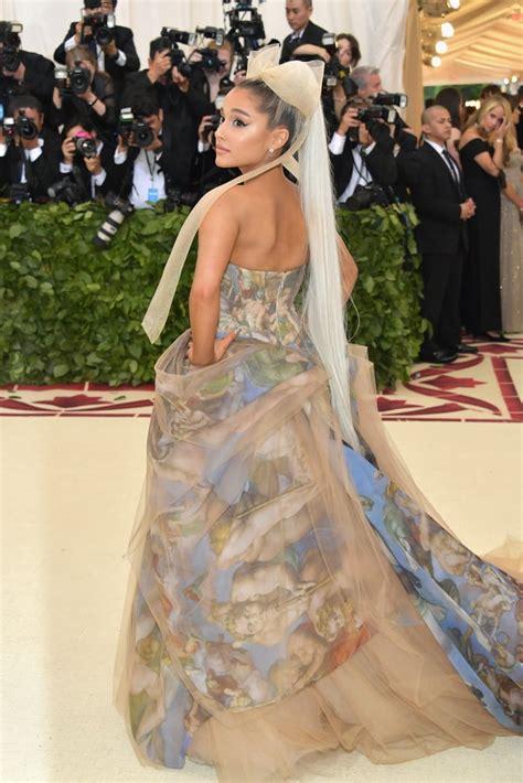 Ariana Grande Met Gala Dress 2018   POPSUGAR Fashion UK ...