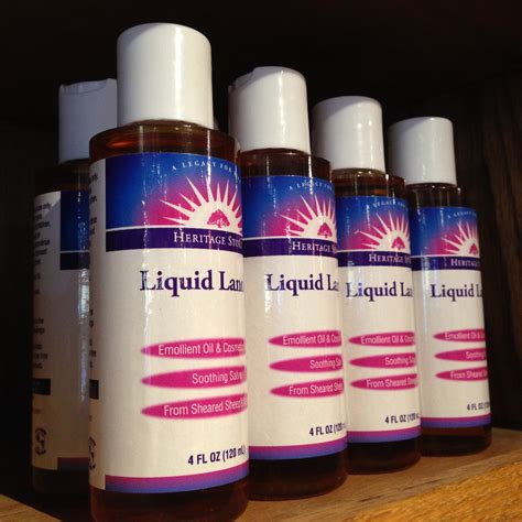 Liquid Lanolin 4 Oz Living Earth Herbs Organic Bulk