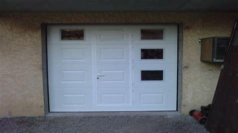 porte de garage sectionnelle sur mesure devis porte garage