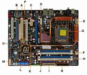 Motherboard Diagram  Identify Components For Motherboard Upgrades Or Replacement