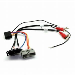 Connects2 Stereo Wiring Harness Adaptor Iso Lead For Jeep