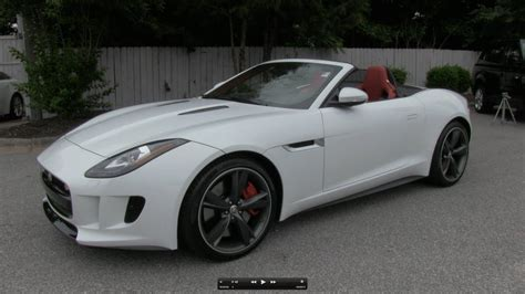2014 Jaguar F-type V8 S Start Up, Exhaust, And In Depth