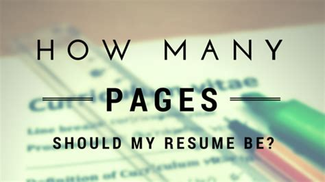 how many pages should my resume be and 12 principles