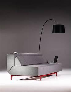 Canapé Lit Design : canape lit design blog d co design ~ Teatrodelosmanantiales.com Idées de Décoration