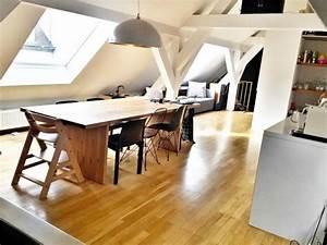 Wohn Und Esszimmer Auf 20 Qm : die besten 25 dachgeschosswohnung ideen auf pinterest k stenm bel golf zimmer und bettw sche ~ Markanthonyermac.com Haus und Dekorationen