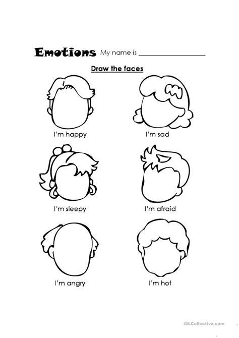 feelings worksheet  esl printable worksheets