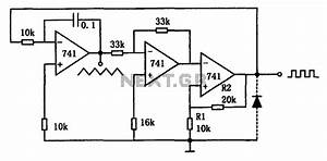 a variety of low frequency waveform generator 741 circuit With tutorial for the waveformer a timing diagram editor and digital