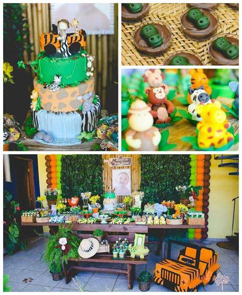 Kara's Party Ideas Safari Themed Birthday Party Kara's