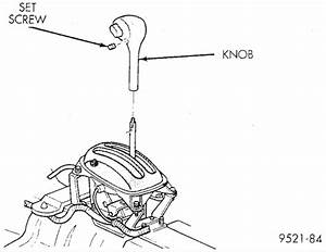 Service manual [2000 Dodge Neon Gear Shift Console Removal