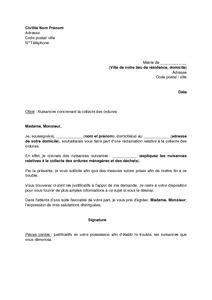 modele lettre collecte taxe d apprentissage exemple gratuit de lettre r 233 clamation 224 mairie concernant