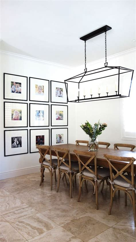 Chic ways to decorate a blank wall. Styling Tip: Gallery Walls (BECKI OWENS)   Dining room walls, Home decor, Dining room inspiration