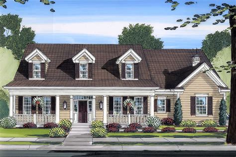 cape home plans beautiful country exterior 39118st 2nd floor master