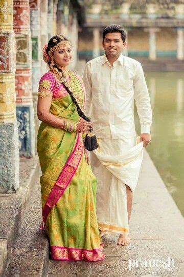 traditional tamil wedding wear south indian bride