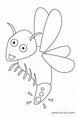 Firefly Coloring Pages Serenity Template Outline Insect sketch template