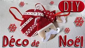 Decorations De Noel 2017 : diy d coration de no l p re no l moustache et boules de no l youtube ~ Melissatoandfro.com Idées de Décoration