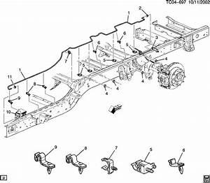 2004 Chevrolet Tahoe Ck360 364 Brake Lines  Intermediate