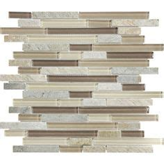 American Olean Glass Tile Dune by American Olean Delfino Smokey Topaz Mixed Material