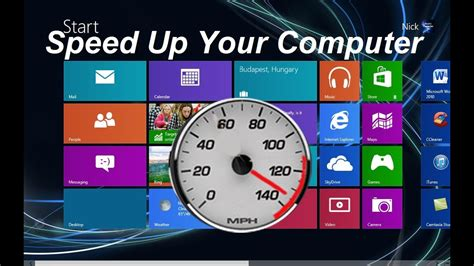 how to speed up your computer windows 8 free easy