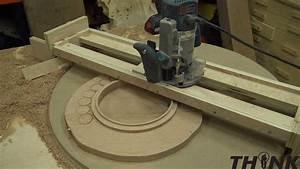 Homemade Router Jig – Bench Top Turn Table – IzzySwan com