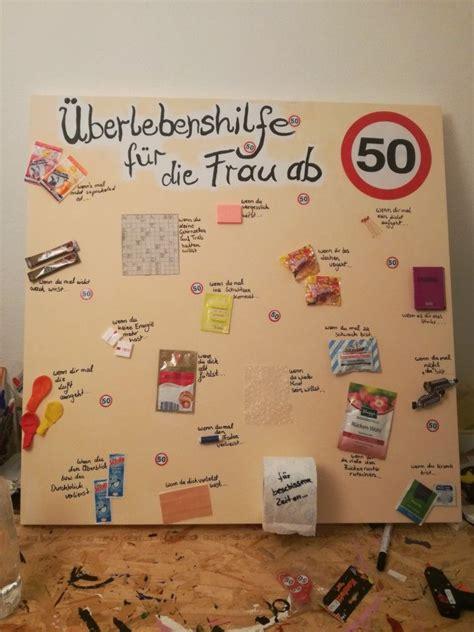 Geschenk Für 50 by Geburtstagsgeschenk F 252 R Die Frau Zum 50 50 50