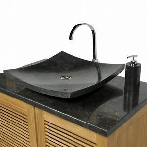 Marmor Waschtisch Mit Unterschrank : marmor waschbecken zen 50cm schwarz ~ Bigdaddyawards.com Haus und Dekorationen