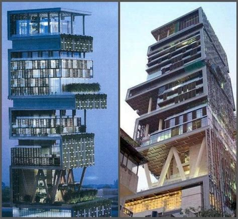 1 billion dollar house the antilia in mumbai india is the most expensive home in